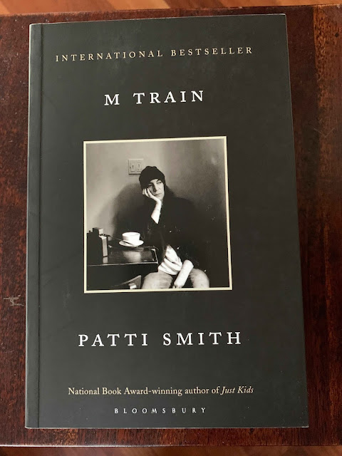 Book cover M Train Patti Smith