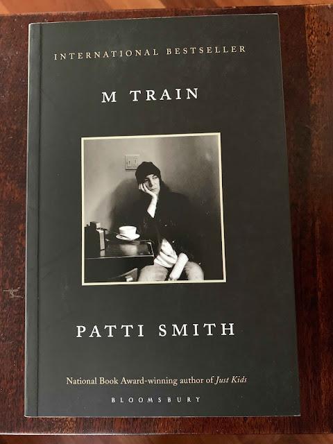 Book cover M Train Patti Smith