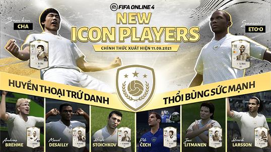 """FIFA ONLINE 4   Soi dàn cầu thủ """"New icon Players"""" huyền thoại trứ danh - thổi bùng sức mạnh của Barcelona, Chelsea"""