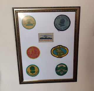 Going back to 1991 - walking badges