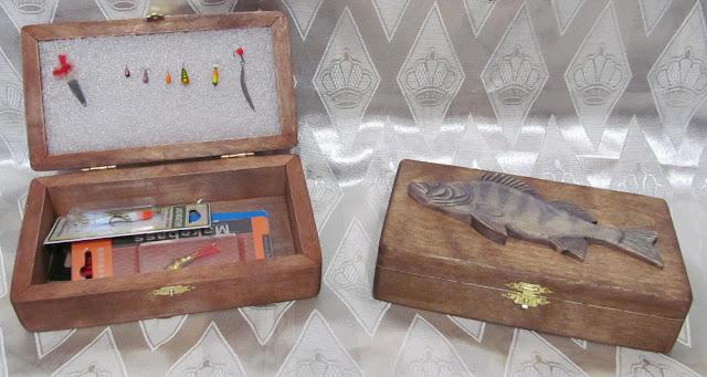 шкатулки в подарок рыбаку