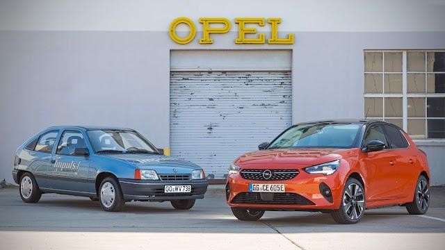 Opel Corsa-e'nin Atası Kadett Impuls I 30 Yaşında