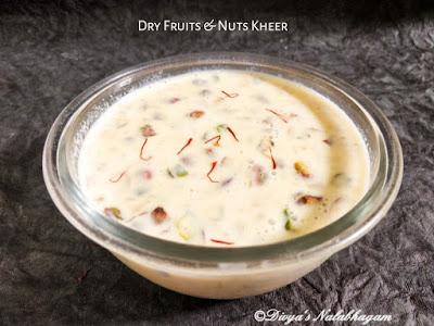 Dry Fruits and Nuts Kheer/Payasam