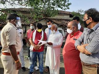 नगरीय कांग्रेस ने मुख्यमंत्री शिवराज और समबंधीत अधिकारियों पर हेराफेरी का लगाया आरोप