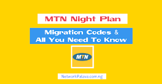 MTN Night Plan Code