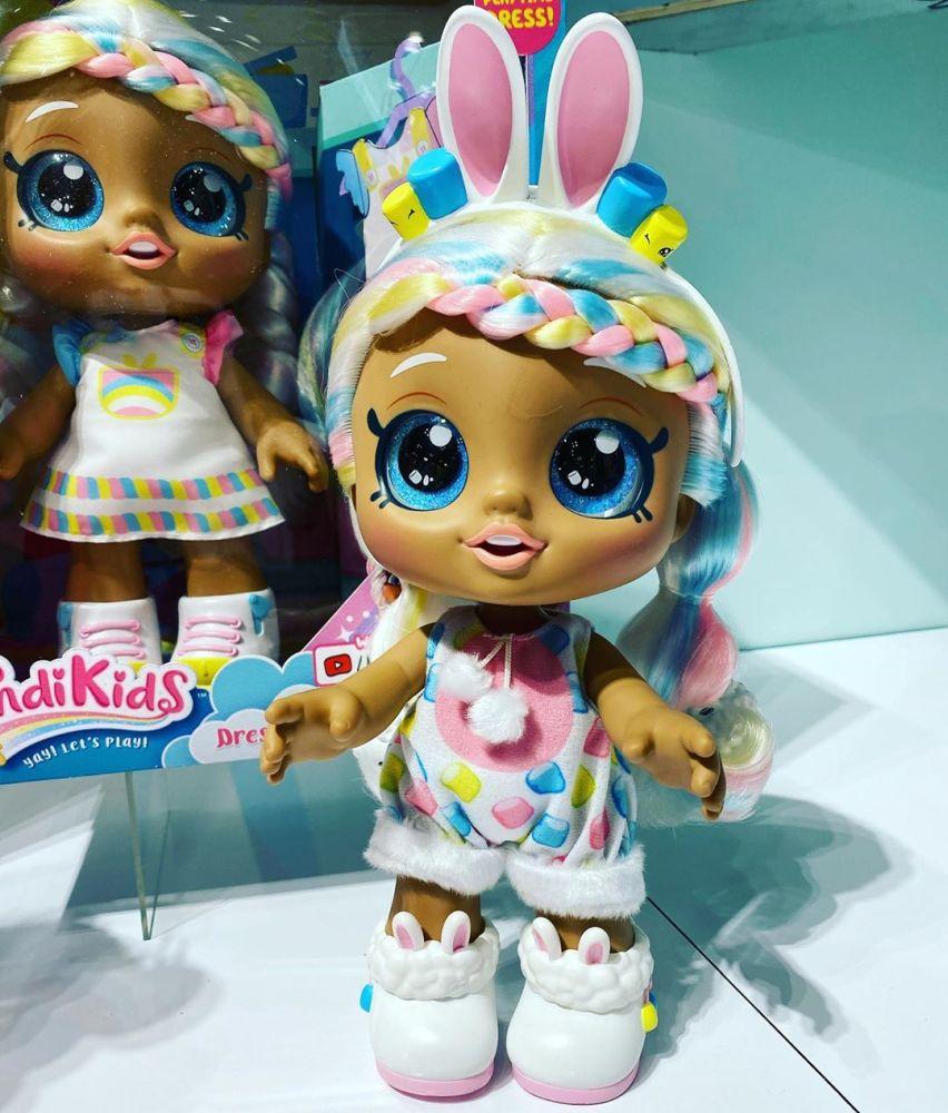 Кинди Кидс кукла зайчик Dress Up Friends Marsha Mello