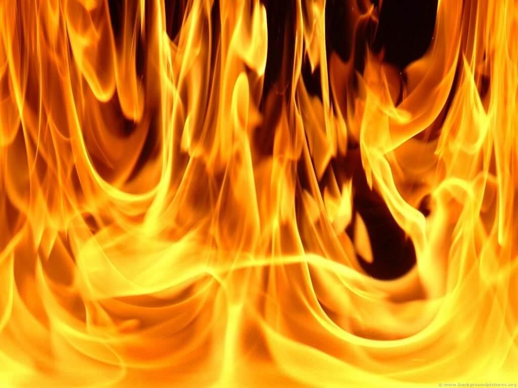 Jin terbakar
