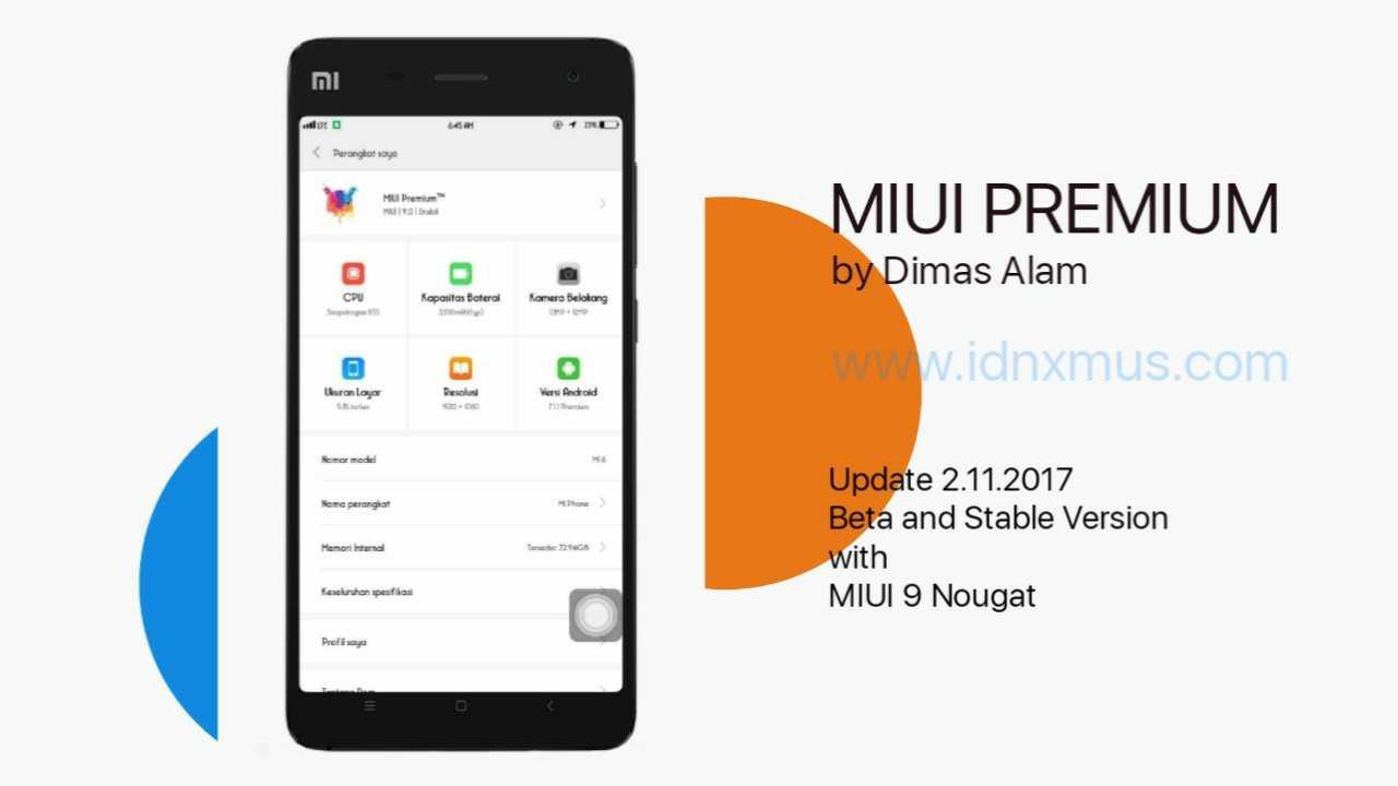 MIUI Premium 7.11.2