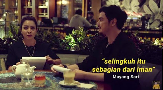 Sebut Selingkuh adalah Bagian dari Iman, Penyanyi Mayangsari Ramai Dihujat Netizen
