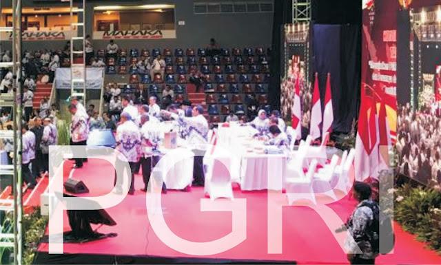 Unifah Rosyidi, M.Pd kembali terpilih menjadi Ketua Umum Pengurus Besar ( PB ) PGRI untuk masa jabatan 2019 - 2024
