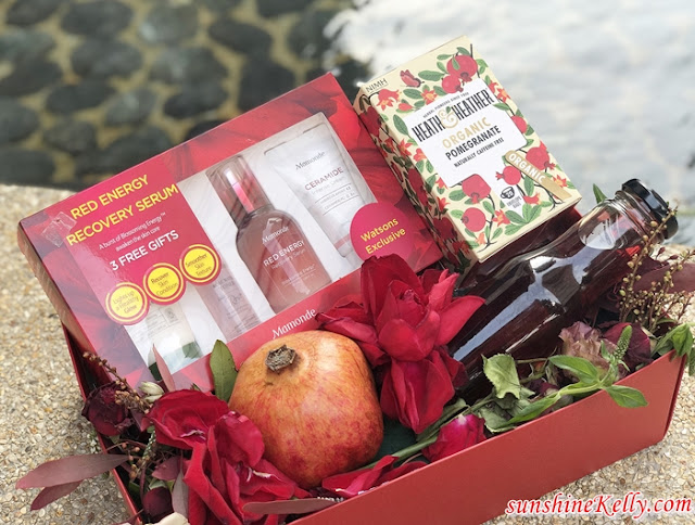 3 Steps to Healthy Pomegranate Rejuvenation Guide, Pomegranate, Rejuvenation Guide, Mamonde Red Energy Recovery Serum, Mamonde Malaysia, Mamonde, beauty