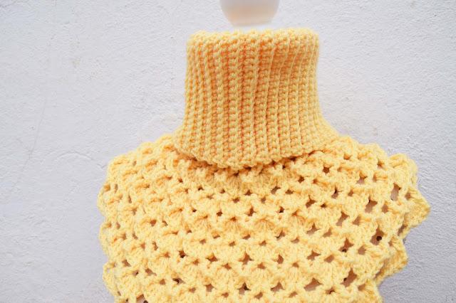 1 -Crochet Imagen Cuello Japonés a crochet y ganchillo por Majovel Crochet