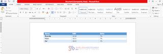 Cara Membuat Tabel Tanpa Coding di Artikel Blogger Terbaru