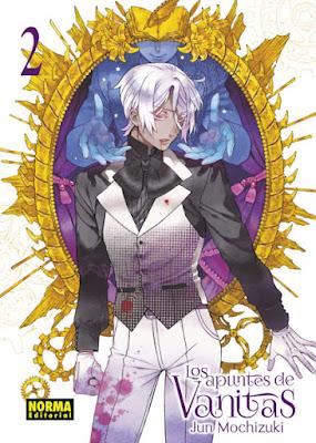 Manga: Review de Los apuntes de Vanitas Vol.2 de Jun Mochizuki - Norma Editorial