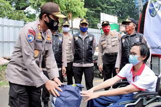 Kakorbinmas Baharkam Polri Peduli Disabilitas
