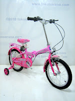 3 Sepeda Lipat Anak FAMILY VIOLET 16 Inci