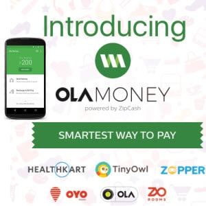 Get 600 rs Recharge in 300 rs from Ola Money app