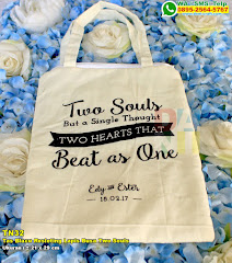 Tas Blacu Resleting Lapis Busa Two Souls