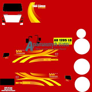 Download Livery Truck Hino NG 500 Box