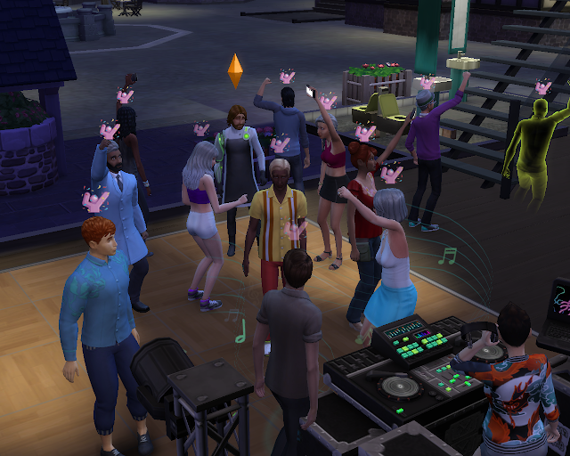 The sims 4 | Party Time