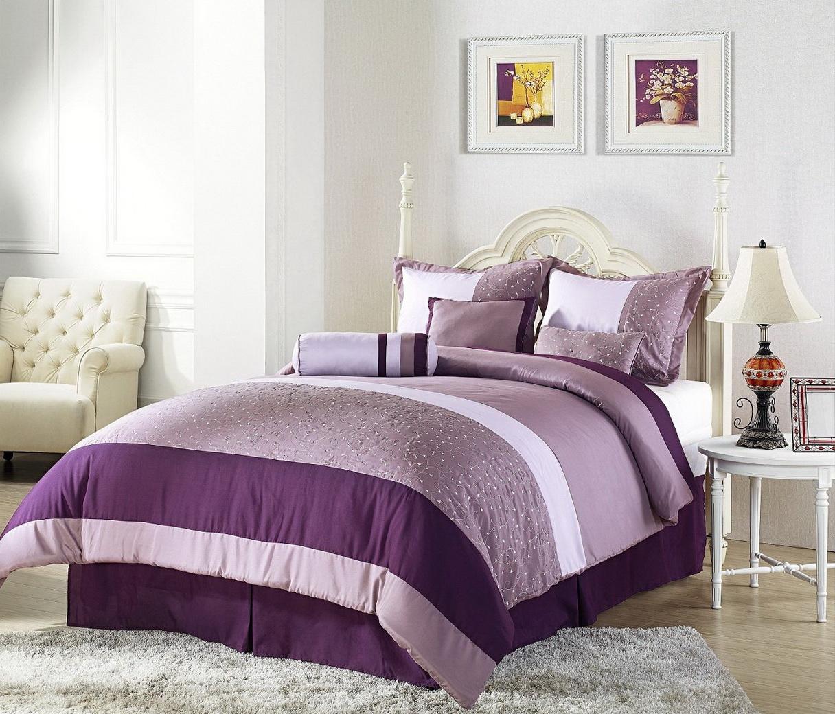 افضل 5 خامات مفارش السرير لغرف النوم .
