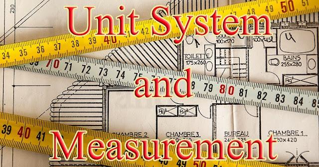 unit system and measurement