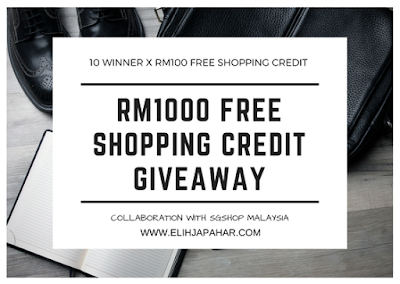 SGshop RM1000 FREE Shopping Credit Giveaway