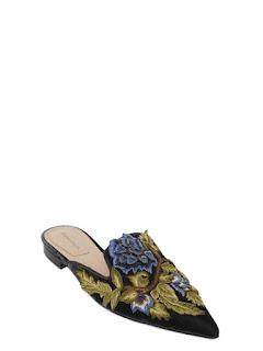 Delicados zapatos  mules de Alberta Ferreti