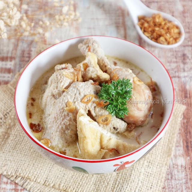 Resep Membuat Opor Ayam Tahu Tempe