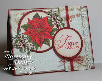 Our Daily Bread Designs, Blessed Christmas, Holly Tag Set