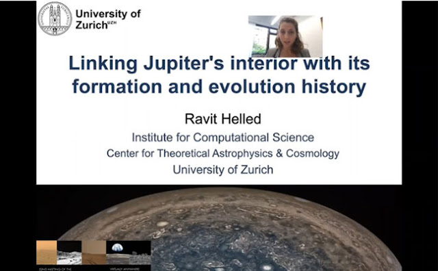 Linking Jupiter's interior with its formation and evolutionary history (Source: Ravit Helled, U of Zurich)