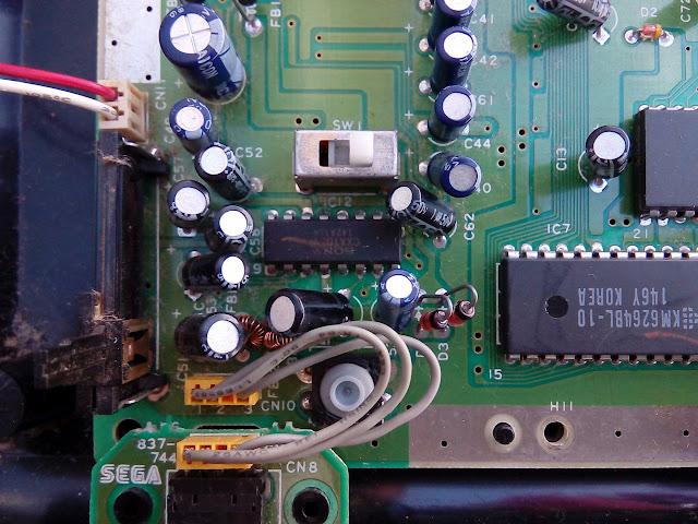 Sega Genesis - Mega Drive Americano - Amplificador de áudio