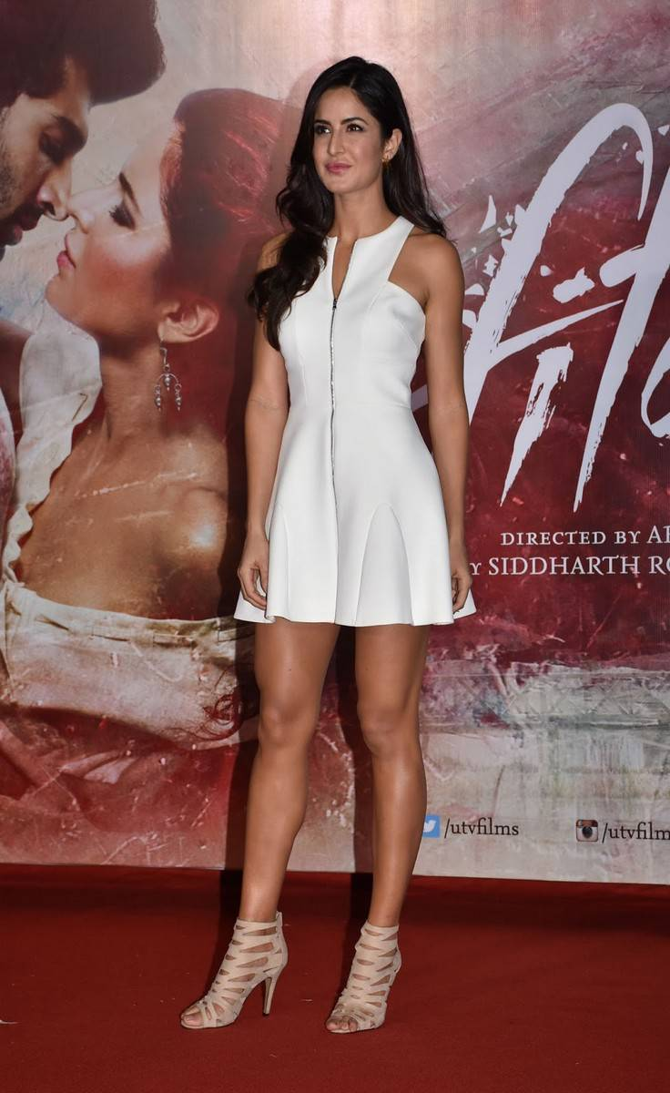 Katrina Kaif 2016 Latest Stills In White Dress