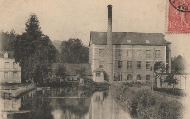 Tron et Berthet à Pont-Saint-Pierre - La selle Idéale. L'usine La baleine sur le site du futur Dosapro-Milton Roy