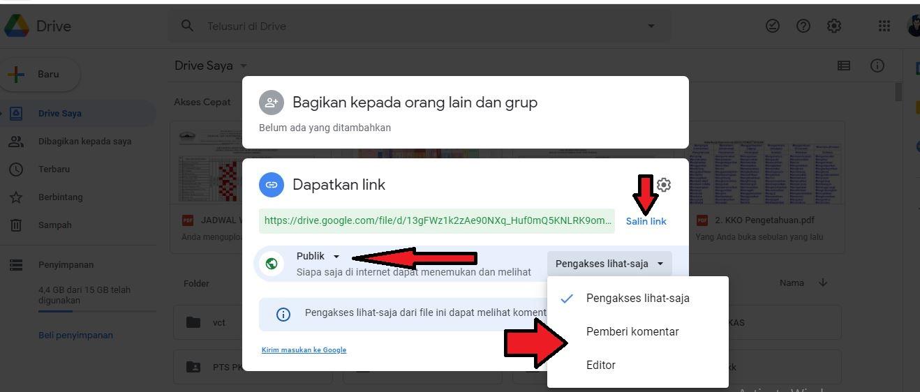 Cara Membuat Google Drive Yang Bisa Di Akses Semua Orang Belajar Mudah