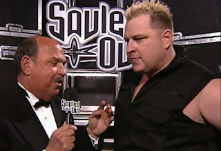 WCW Souled Out 2000 - Mean Gene Okerlund interviews Brian Knobs