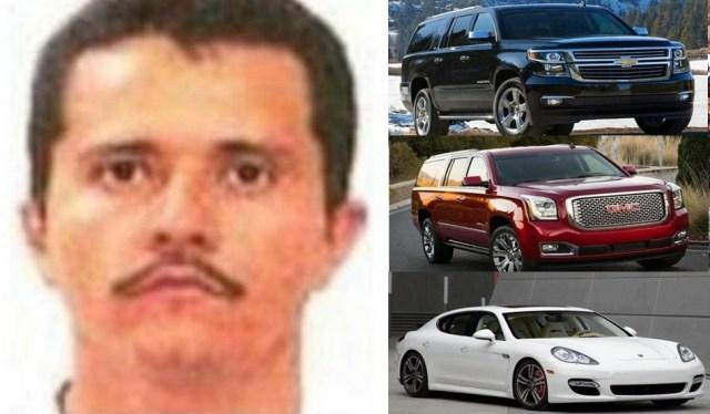Nemesio Oseguera Cervantes y la colección de coches favoritos de El Mencho líder absoluto del CJNG