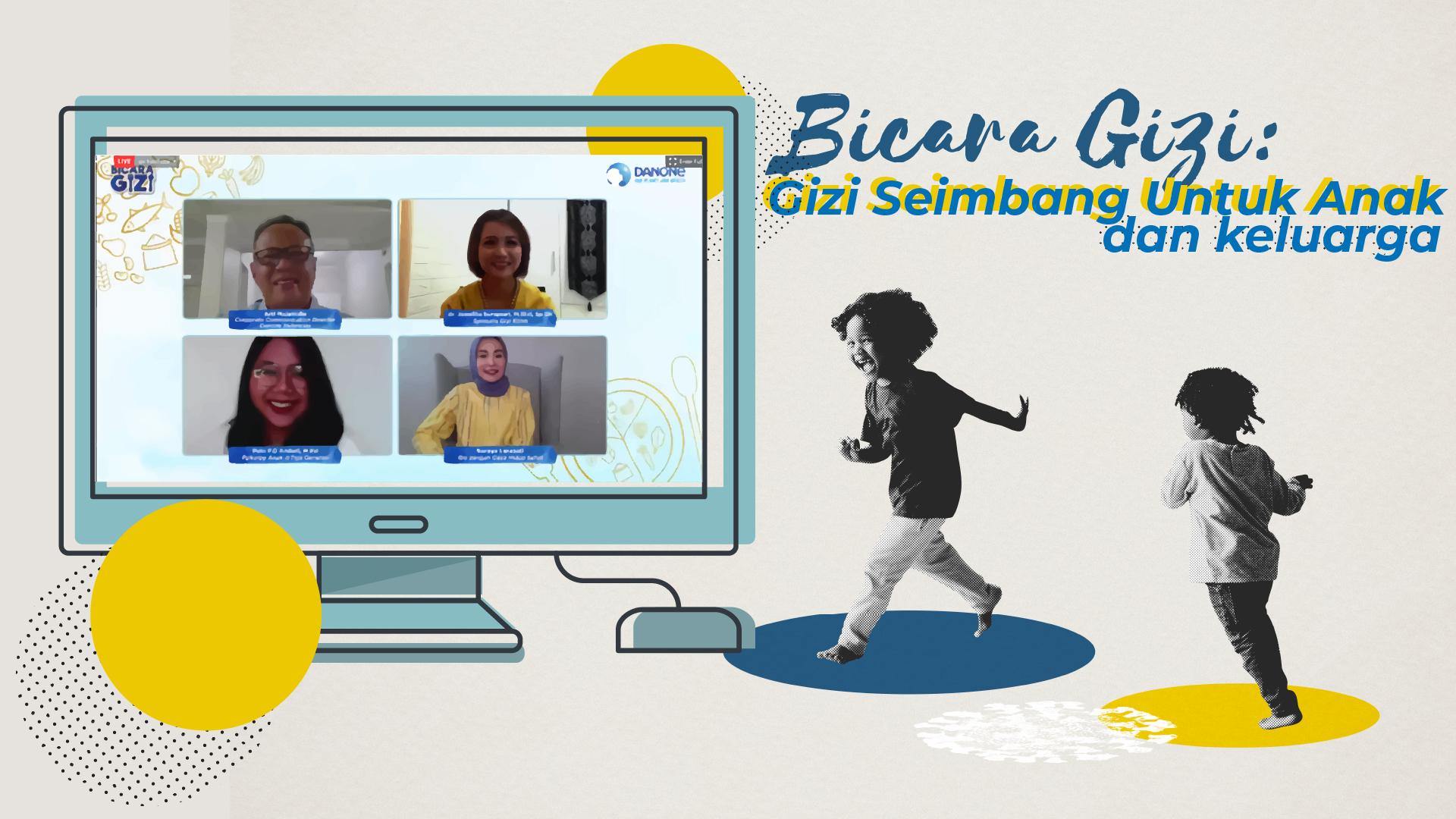Webinar Bicara Gizi: Gizi Seimbang Danone