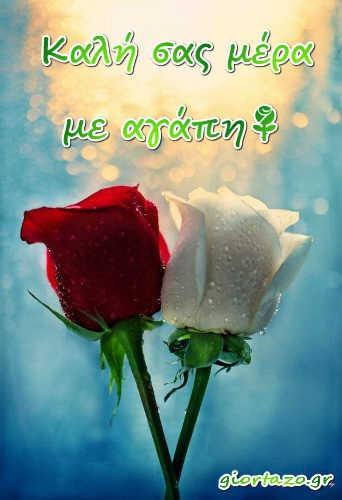Όμορφες Εικόνες Καλημέρα giortazo