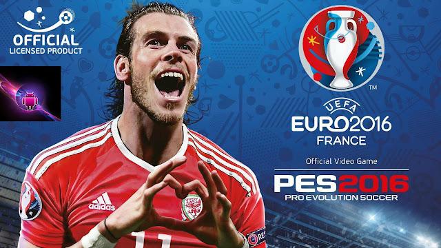 تحميل لعبة PES EURO 2016 للاندرويد