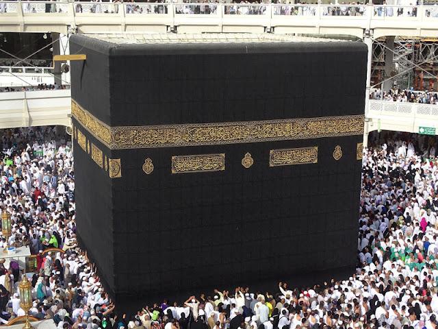Gambar Kabah tempat suci di Mekah
