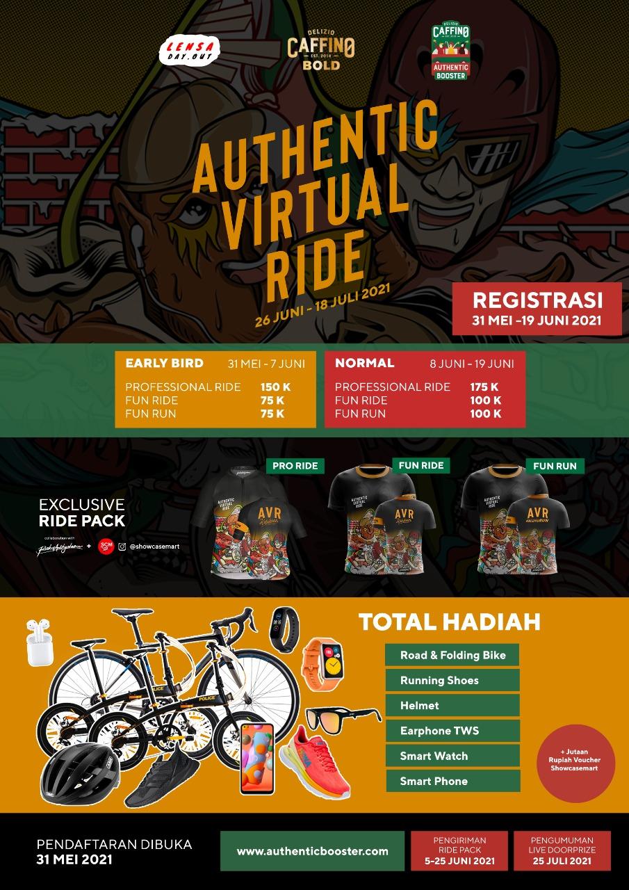 Authentic Virtual Ride • 2021