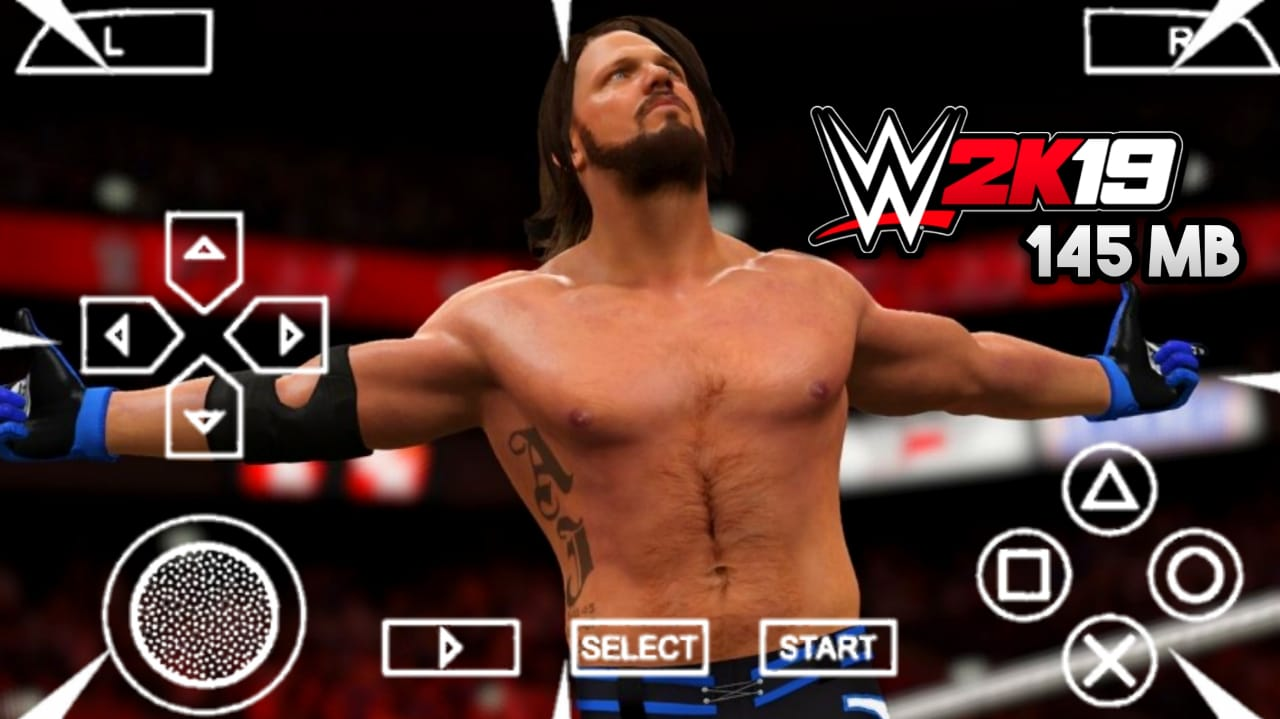 145 Mb] Download Wwe 2k19 Game Mod In Wrestling Revolution