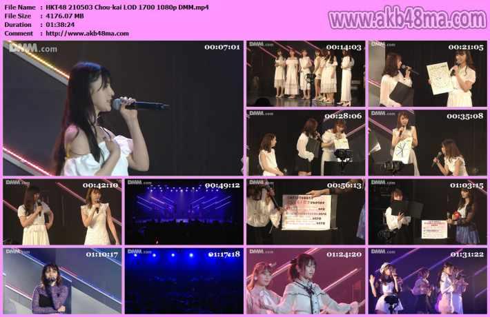210503 HKT48 Chou単独イベント