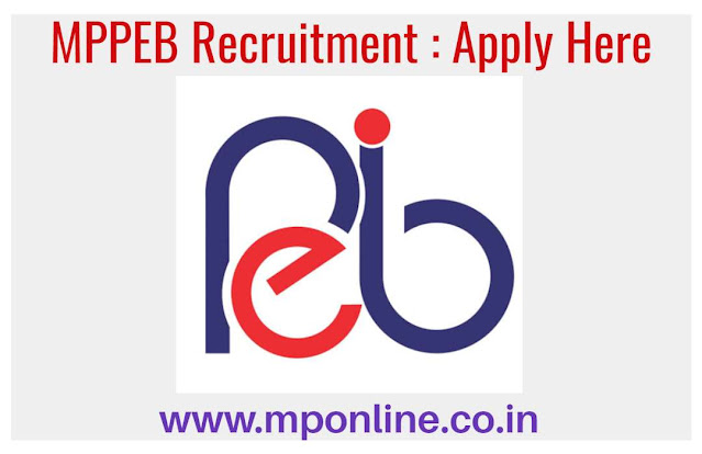 MPPEB Recruitment 2020