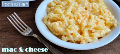 como fazer mac an cheese