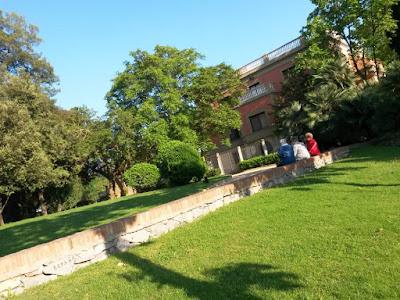 Palauet en el Parque de Can Vidalet
