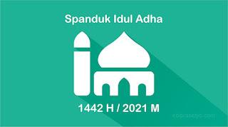 Download Gratis Spanduk Qurban Idul Adha 2021