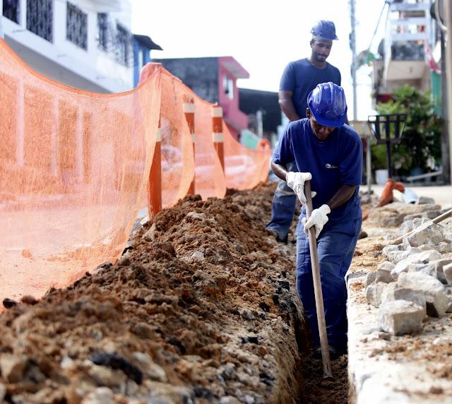 Ipojuca recebe obra para melhoria do abastecimento de água