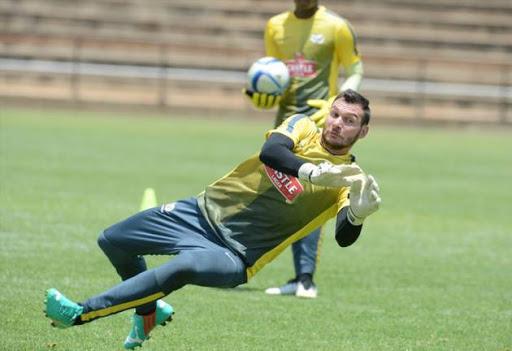 Bafana goalkeeper Darren Keet